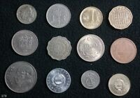 LOT OF 12 COINS 12 COUNTRIES BELGIUM PAKISTAN HUNGARY AND MORE   173