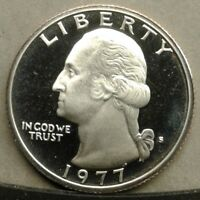 41918.17 PROOF 1977 S WASHINGTON QUARTER COMBINED SHIPPING AVAILABLE