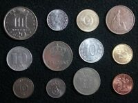LOT OF 12 WORLD COINS GREECE DENMARK GREAT BRITAIN AND MORE   175
