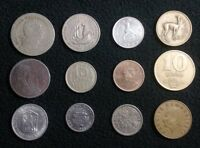 LOT OF 12 WORLD COINS ZIMBABWE PORTUGAL PERU AND MORE   177