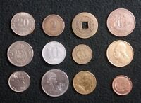 LOT OF 12 WORLD COINS GERMANY OLD CHINESE GREECE AND MORE   180