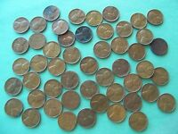 1948 P LINCOLN WHEAT CENT ONE ROLL OF 50 PENNIES CIRCULATED VG-VF NO CULLS