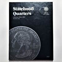 30 P & D US STATEHOOD QUARTER COLLECTION NUMBER ONE 1999 TO 2001 WHITMAN ALBUM