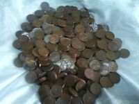 LOT OF 800 1940'S-1950'S WHEAT PENNIES