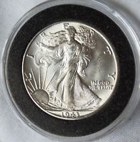 1943-D WALKING LIBERTY HALF DOLLAR  HIGH GRADE CHOICE GEM COIN  MAKE OFFER