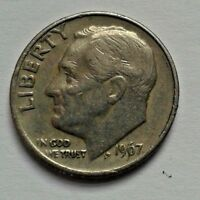 1967 ONE DIME USA COIN ROOSEVELT COIN UNITED STATES OF AMERICA