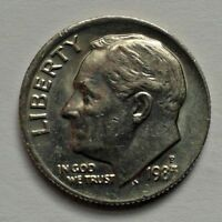 1985 P ONE DIME USA COIN ROOSEVELT COIN UNITED STATES OF AMERICA