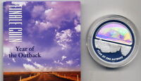 2002 YEAR OF THE OUTBACK: FINALE $5  1OZ  PROOF COIN:    NO