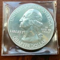 2016 AMERICA THE BEAUTIFUL 25C   CUMBERLAND GAP NP KENTUCKY 5 OZ SILVER DMPL