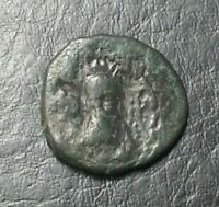 SHAHPUR INDO GREEK INDO SCYTHIAN KUSHAN ANCIENT COIN 3.3 GRAMS 17.8 MM