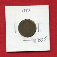 1893 INDIAN HEAD 1C PENNY 87525 $ HIGH GRADE COIN US MINT  KEY DATE ESTATE