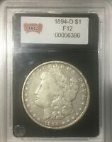1894 O  NEW ORLEANS  SILVER DOLLAR IN UNRECOGNIZED 3RD PARTY HOLDER CCGS SLAB