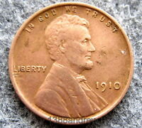 UNITED STATES 1910 CENT LINCOLN WHEAT