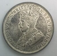 AUSTRALIA FLORIN GEORGE V 1911   LUSTROUS  COLLECTORS SOME TONE COIN NICE