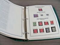 US FABULOUS STAMP COLLECTION MOUNTED IN A MYSTIC HEIRLOOM ALBUM