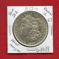 1882 O VAM-138B KIMPTON 12 R7 WOW BU UNC MORGAN SILVER DOLLAR 64948 MS ESTATE
