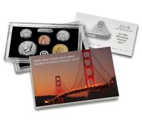 2018 S SILVER REVERSE PROOF SET ALL MINT PACKAGING SOLD OUT