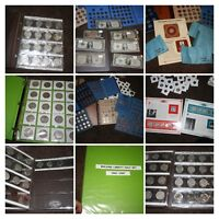 LARGE      COIN      COLLECTION    GOLD    SILVER     COMPLE