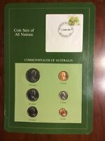 COIN SETS OF ALL NATIONS COMMONWEALTH OF AUSTRALIA FRANKLIN