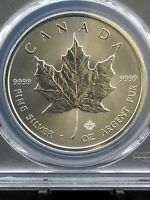 2018 CANADA 1 OZ SILVER MAPLE LEAF PCGS MS69 FIRST STRIKE LA