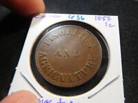 G36 CANADA 1855 FISHERIES & AGRICULTURE CENT