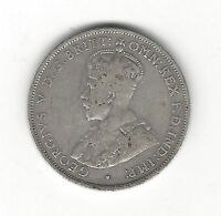 24. ONE WORLD COIN AUSTRALIA 1934 ONE SHILLING FINE GEORGE V