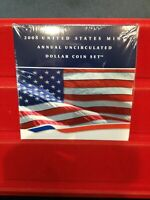 2008 U.S. MINT ANNUAL UNCIRCULATED DOLLAR COIN SET IN ORIGIN
