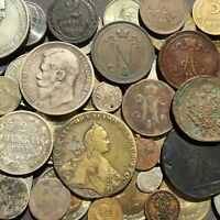 1772 ROUBLE IN 63 EUROPE WORLD COIN LOT
