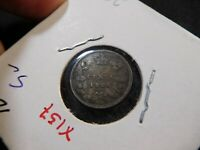 X157 CANADA 1885 5 CENTS
