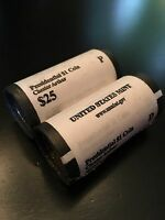 2012 CHESTER ARTHUR $1 P&D MINT WRAPPED ROLL SET PRESIDENTIAL DOLLARS