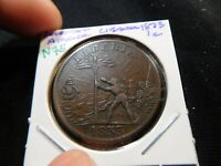 N75 COLONIAL AFRICA LIBERIA 1873 CENT