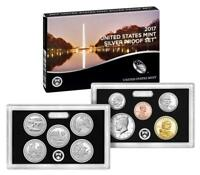 2017 S US MINT SILVER PROOF 10 COIN SET 17RH