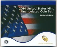 2014 UNITED STATES MINT UNCIRCULATED COIN SET   PHILADELPHIA