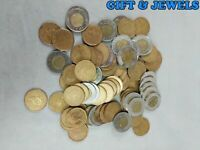 $100 FACE VALUE CANADIAN COINS $1 & $2 DENOMINATIONS  AH205