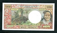FRENCH PACIFIC TERRITORIES  P2  1 000 FRANCS 1997 VF