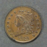 1828 1/2C CLASSIC HEAD HALF CENT,  HIGH-GRADE COIN - 13 STARS - LOTM161