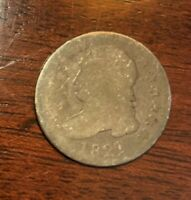 1821 CAPPED BUST DIME LARGE DATE. GREAT PRICE