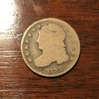 1832 CAPPED BUST DIME. GREAT PRICE
