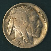 1919-S BUFFALO NICKEL F: SHIP FOR ONE LOW FEE NO MATTER HOW MANY COINS YOU BUY