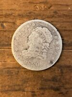 1830 CAPPED BUST SILVER HALF DIME