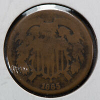 1865 2C TWO-CENT PIECE LOTM754