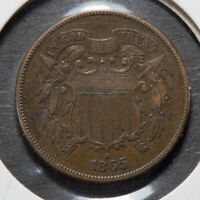 1865 2C TWO-CENT PIECE LOTM753