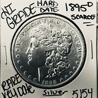 1895 O MORGAN SILVER DOLLAR HI GRADE GENUINE U.S. MINT  KEY