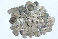 LOT 218 SILVER AND BRONZE ISLAMIC OTTOMAN ARABIC COINS