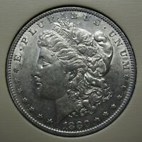 1880-O MORGAN SILVER DOLLAR GRADING AU BARGAIN PRICED WITH FREE S&H    B1