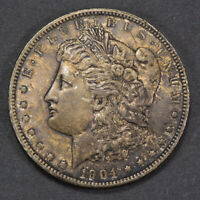 1904-O $1 MORGAN SILVER DOLLAR -  DEEP ORIGINAL TONING - LOTM835