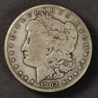 1902-O $1 MORGAN SILVER DOLLAR, BETTER DATE COIN LOTM887