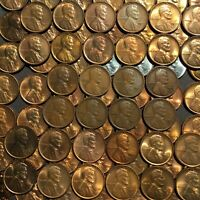 1914D AND 1909S LINCOLNS IN 81 LINCOLN SMALL CENT LOT