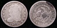 1834 CAPPED BUST HALF DIME