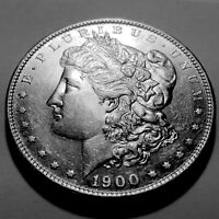 1900-S MORGAN SILVER DOLLAR  CHOICE BU